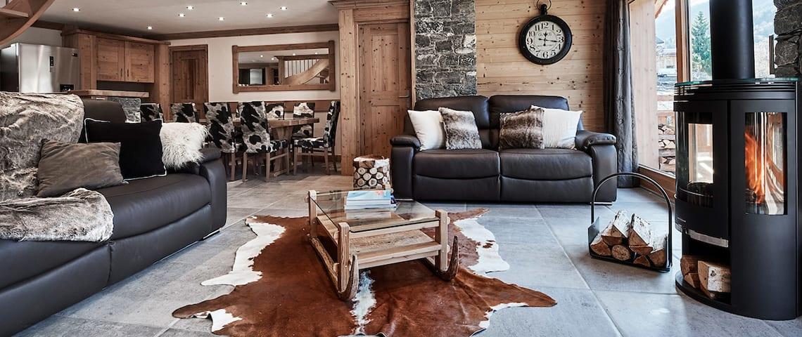 ski chalet facilities to make you feel snug