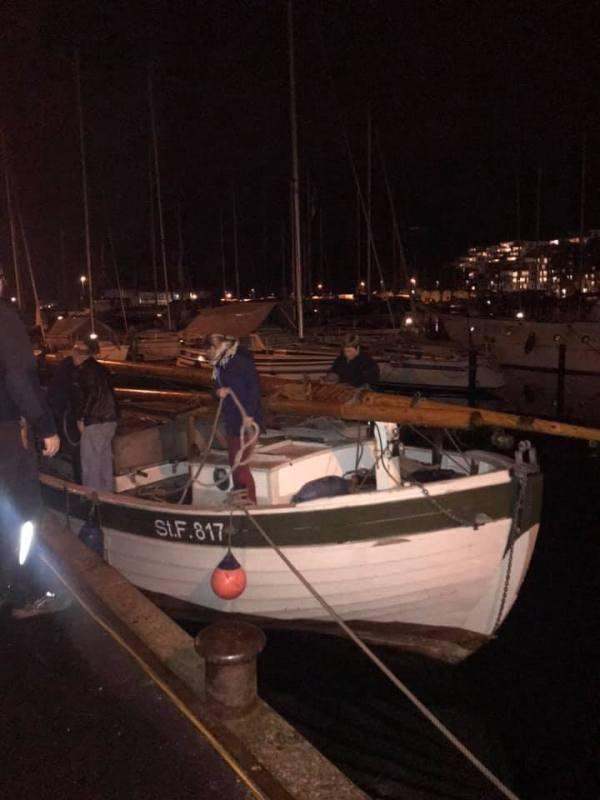 Skibet træskib båd sejlads 3