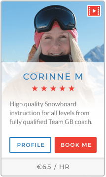 Corinne M Instructor Tignes