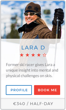 Lara D Instructor Courchevel