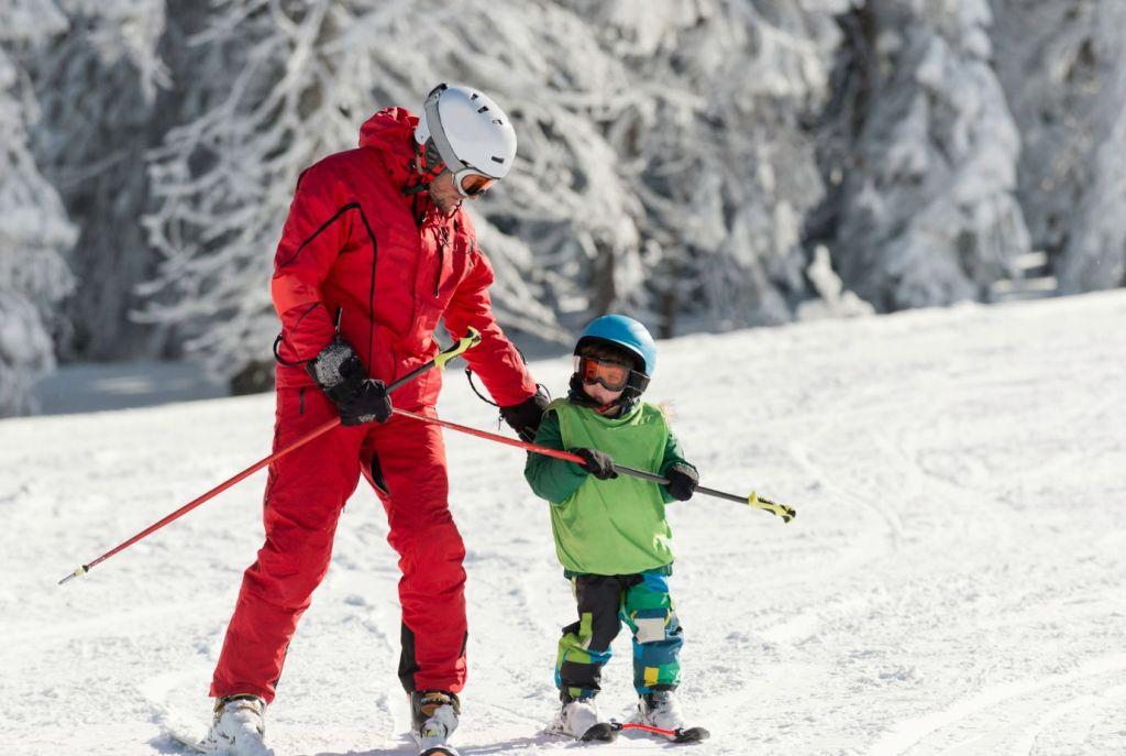 Kids Ski Lessons La Rosière