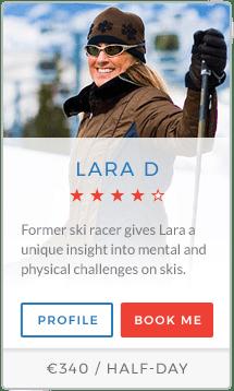 Lara D Instructor La Tania