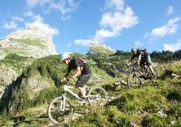 Mountain Biking in Chatel