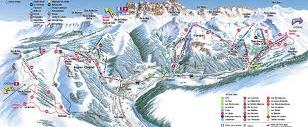 Chatel Piste Map