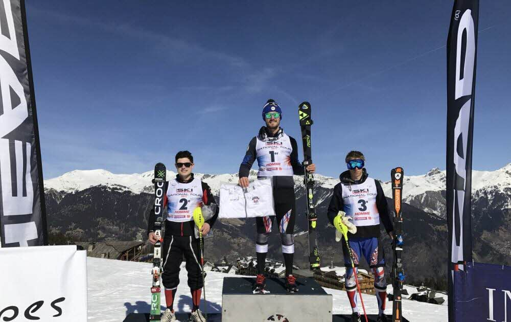Max RIZZO s'impose à Courchevel en Slalom