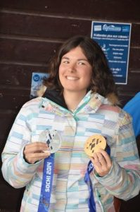 Solène JAMBAQUE, multi médaillée aux Jeux Paralympiques et Mondiaux.