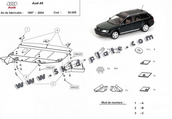 Audi A6 Skid Plate