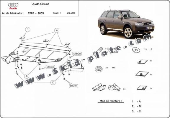 Audi Skid Plate