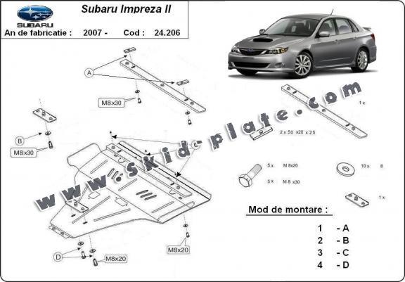 Subaru Skid Plate
