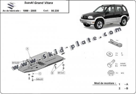 Suzuki Grand Vitara Skid Plate