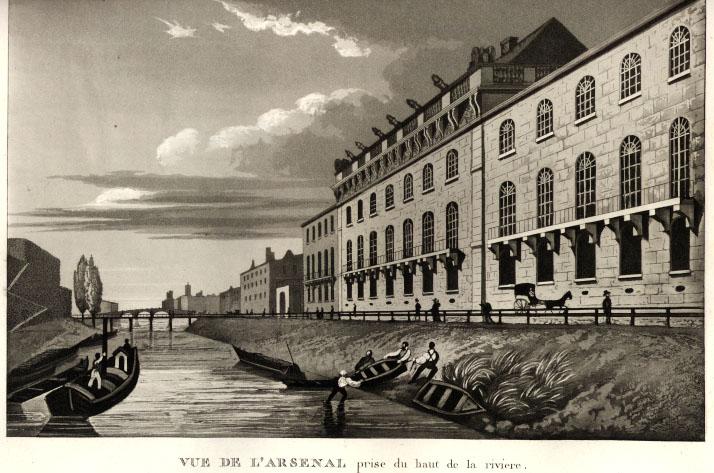 Arsenal Paris in 1789