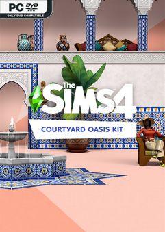 The Sims 4 Courtyard Oasis Kit Anadius