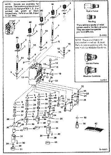 Bobcat 863 Hydraulic Valve Diagram. Diagrams. Auto Fuse