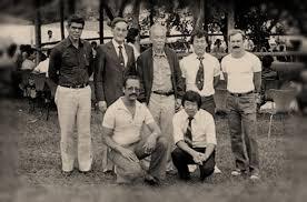 Brig Valle, Alcione, Nagashima, Kohara, Roberto, Benedito e Furusho