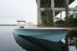 Viking's New 17 Dragonfly Classic Skiff