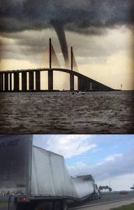Water Spout in Tampa