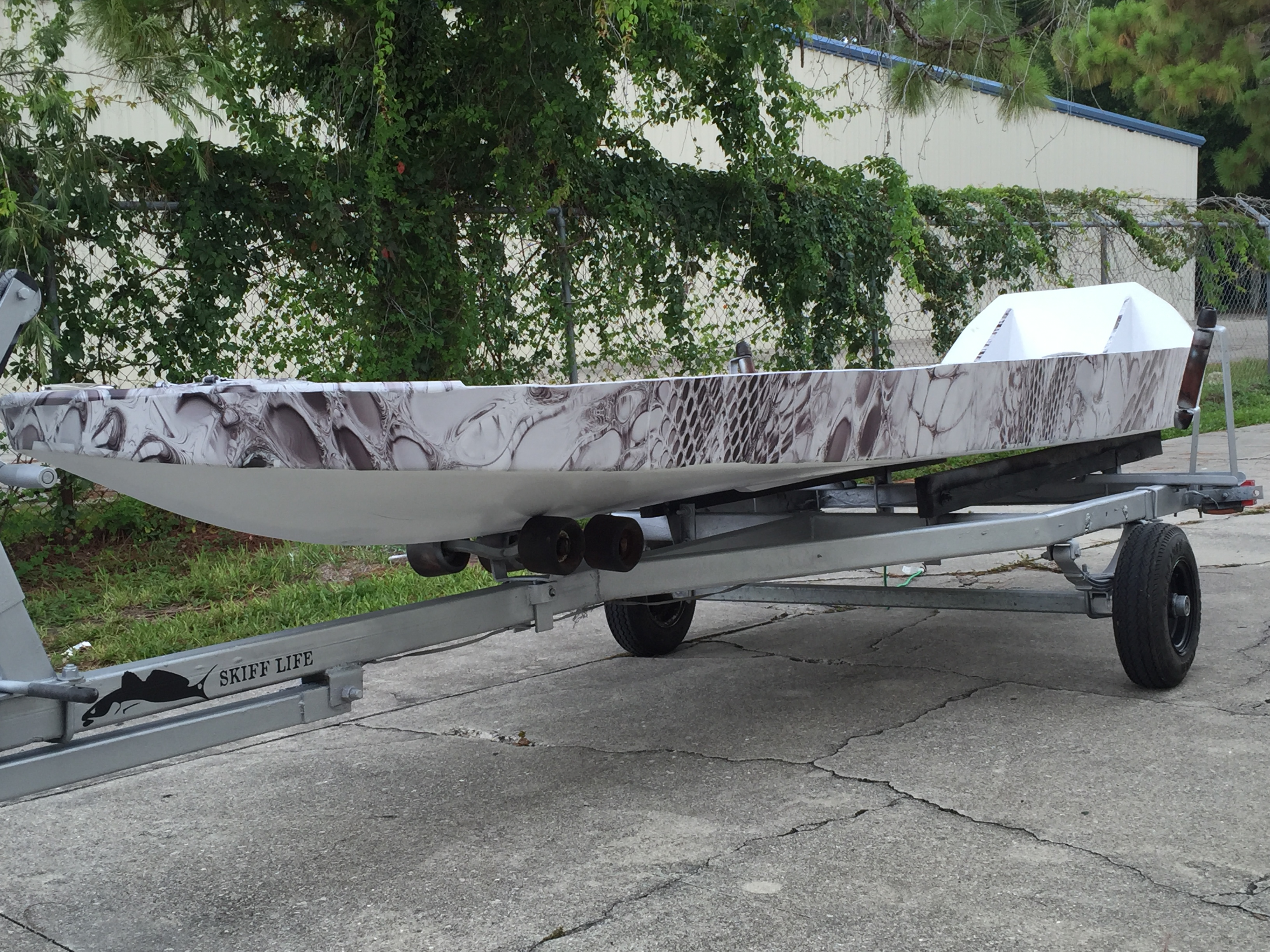 Skiff Life's Bateau SK14 Microskiff Build