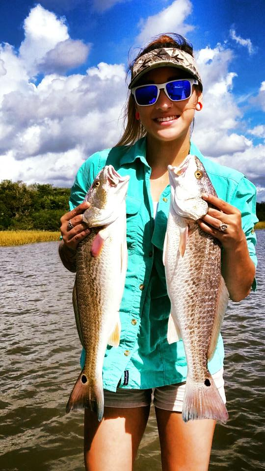 Texas Reds are beautiful fish and fun to catch!
