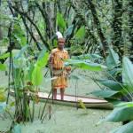 Florida Seminole Tribesman goes Dragonfly