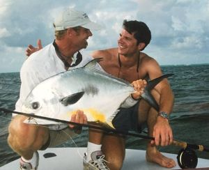 Tbt Thursday nice Key West permit with old friends @tarpon04 and @wbsprings2 #pe…