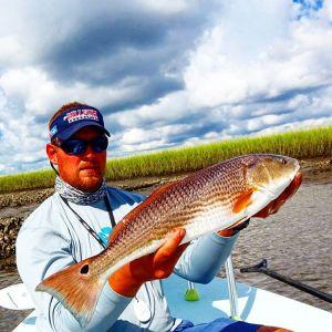 @turbo0919 with a Fernandina Beach redfish from a few weeks ago, ready to roll u…