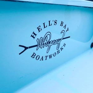 Get to ride in one of these bad boys. Oldie but runs like a champ. #hellsbayboat…