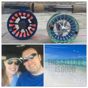 Happy Mother's Day everyone! Both of our new fly reels are spooled up and ready …