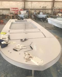 Hot digity dang!  She's coming right along! . . . #eastcapeskiffs #eastcapefury …