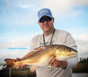 These are such beautiful animals! Love catching these guys! #redfishing #redfish…