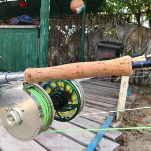 Kitted up and ready to go, one for bonefish and the other for permit.…