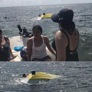 Today we save some boaters that capsized!                          …