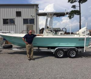 Carolina Skiff – Marc Z would like to thank Mr. Nipper for his business and congrats on the new 2…