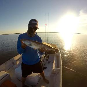 First seatrout on the boat!