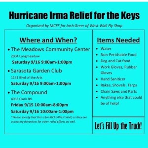 Hey guys please take a second and read this HURRICANE REFIEF info sheet. Thanks …