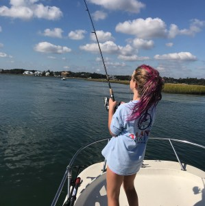 Fish on! Category5 manic minnows getting the job done!        …