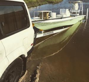Why put in with everyone else at the boat ramp when you can be the first on the …