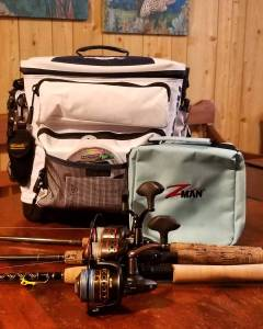 All rigged up and ready to go! All trout will be released on my boat until we kn…