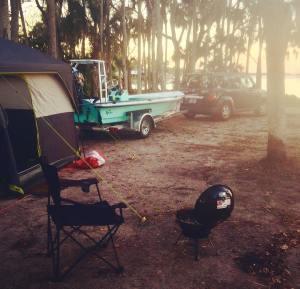 I love ️ ️ camping               …