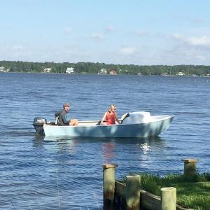 It's not a poling skiff and might not be the best fishing boat but I can hardly …