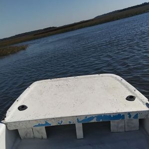 Just creek crusing on a freezing cold Jacksonville day!  …