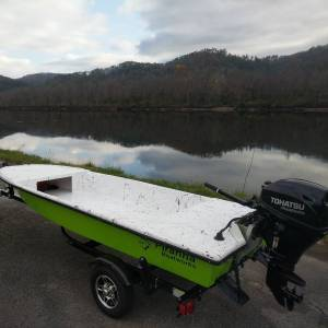 New Piranha P140 Skiff ready to splash
