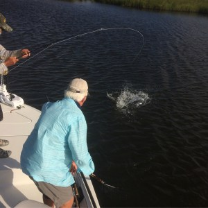 Had a real good time fishing Roger and Tim off the Southern Magnolia mother ship…