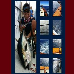 TBT On The Ocean Odyssey out of  . Bluefintuna I Gottum!!! Jackpot 55lb Bluefin…