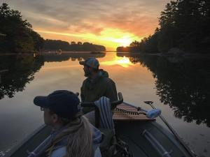 Thank you fly fishing for getting us out at sun rise again and again and again. …