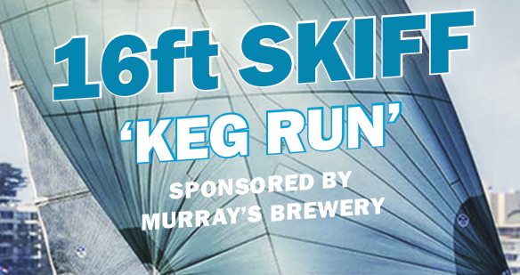 16ft Skiff Keg Run | Sail Port Stephens