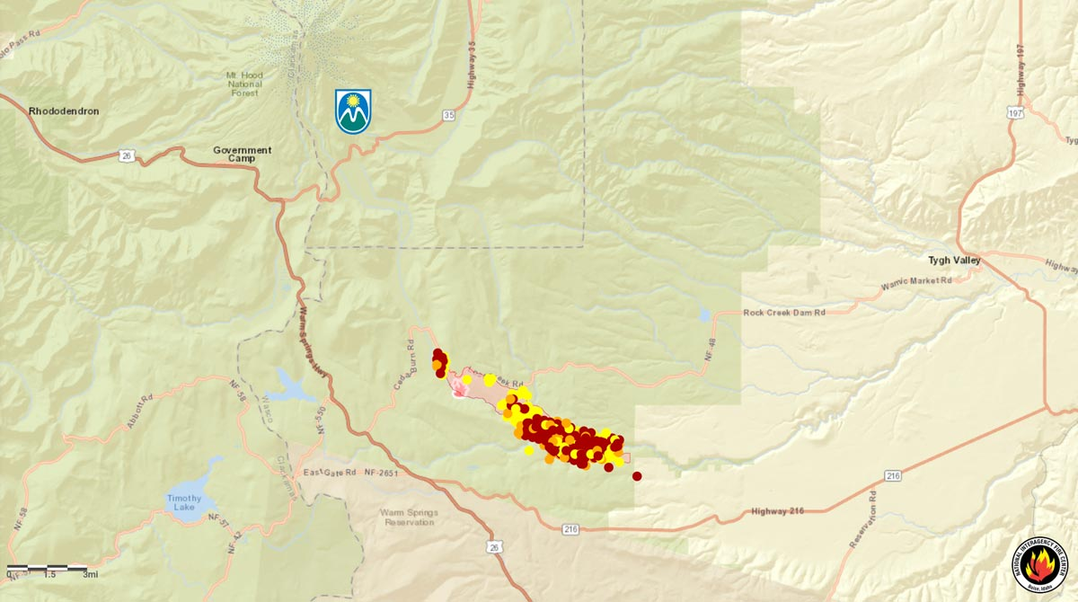 Explore maps of wildfires, air quality and smoke forecasts in california, oregon, washington and surrounding states. White River Fire Still Burning Meadows