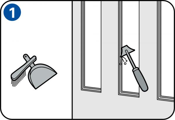 Dipingere porte e infissi delle finestre