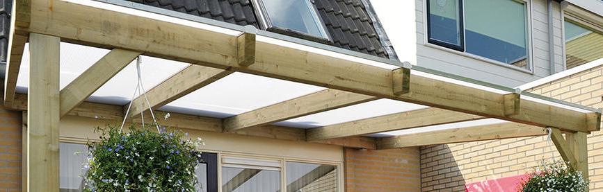 Terrasoverkapping of veranda maken