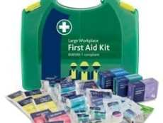 British Standard Large Workplace First Aid Kit in Aura Box