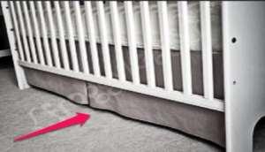 Under Baby Crib Food Storage